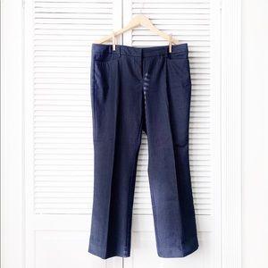 New York & Company Denim Print Trouser NWOT